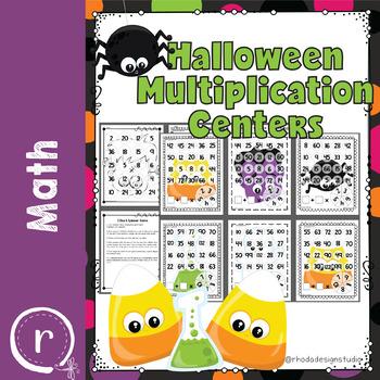 Halloween Math Games, Activities, Centers