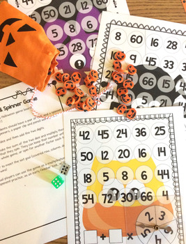 Halloween Math Games and Centers