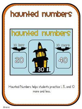 Halloween Math Centers Mega Pack