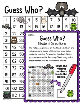 Halloween Math Centers: Number Sense