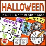 Halloween Math Centers: Number Sense
