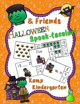 Halloween Math Centers Spook-tacular with Frank & Friends