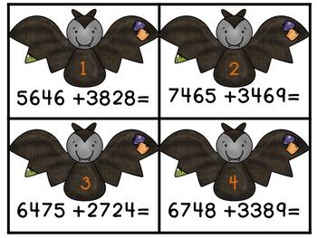 Halloween Math Centers! Third Grade: Common Core!