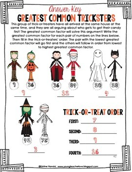 Halloween Activities - Halloween Math Centers - Halloween Task Cards