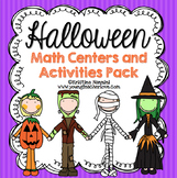 Halloween Activities and Math Centers