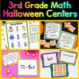 3rd Grade Halloween Math Centers