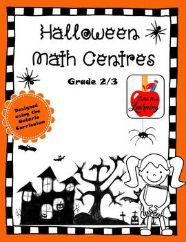 Halloween Math Centres