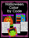 Halloween Math Color by Code!
