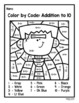 Halloween Math Color by Number (Addition and Subtraction Facts to 20)