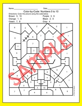 Halloween Math Worksheets – Halloween Coloring Pages - Pumpkin, Zombie, Witch