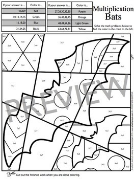 halloween math coloring sheets great october halloween activity - Halloween Math Coloring Pages