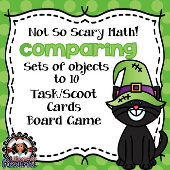 Halloween Math Compare Sets of Objects to 20