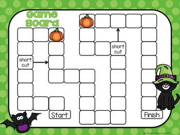 Halloween Math Game Comparing 3-Digit Numbers