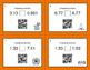 Halloween Math: Comparing Decimals QR Code Task Cards