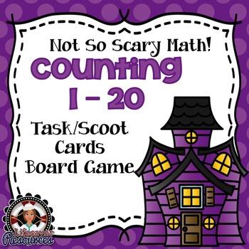 Halloween Math Counting 1-20