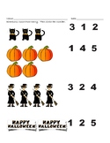 Halloween Math Differentiated Counting
