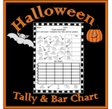 Halloween Math - Counting And Graphing Activity.