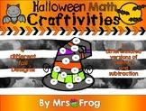 Halloween Math Craftivities