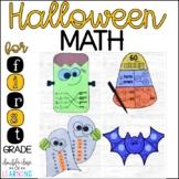 Halloween Math Craftivities for First Grade { Equations, T