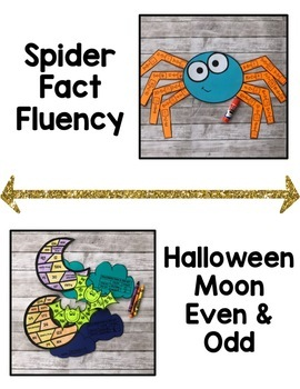 Halloween Math Craftivities for SECOND Grade {Graphing, Geometry, & MORE!}