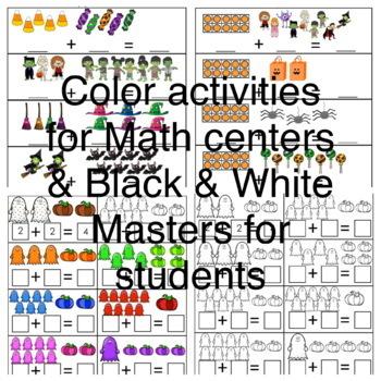 Halloween Math, Creative Writing & Pumpkin Measurement K-3 (English Only)