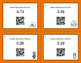 Halloween Math: Decimals to Percents QR Code Task Cards