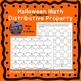 Halloween Math Distributive Property No Negs Fall Activities Color by Number
