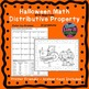 Halloween Math Distributive Property Negatives Fall Activities Color by Number