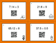 Halloween Math: Dividing Decimals QR Code Task Cards