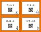 Halloween Math: Dividing Decimals QR Code Task Cards