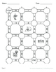 Halloween Math: Dividing Integers Maze