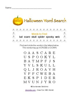 Halloween Math & ELA Worksheets, Games & Puzzles - 1st & 2nd Grades