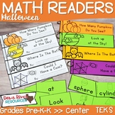 Halloween Math Emergent Readers {TEKS} | Sight Word Practi