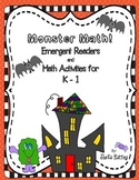 Halloween Math Emergent Readers for K-1