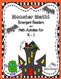 Halloween Math Emergent Readers for K-1