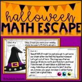 Halloween Math Escape Activity