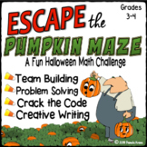 Halloween Escape Room - Math : 3-digit Addition & Subtraction Crack the Code
