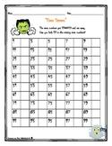 Halloween Math Even Steven