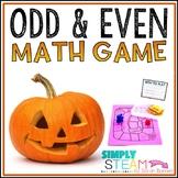 Halloween Math Game Odd and Even