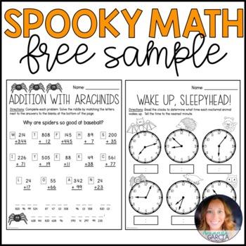 Halloween Math FREE