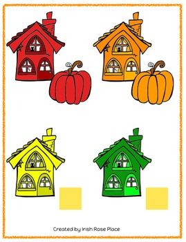 Halloween Math File Folders