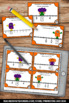 Halloween Math Center Activities & Games Fractions on a Number Line Task Cards