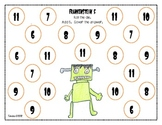 Halloween Math: Frankenstein Five
