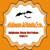 Halloween Arithmetic Fun Multiplication, Division & Word P