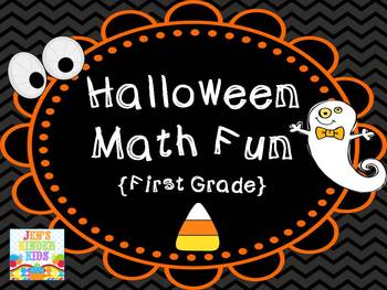 Halloween Math Fun {First Grade}