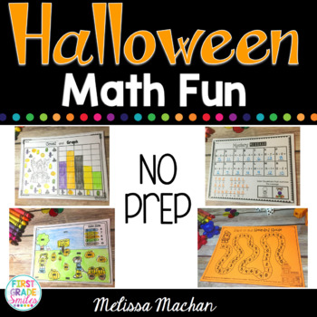 Halloween Math Fun - NO PREP