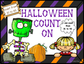 Halloween Math Fun ~ Number Recognition, Counting On, Plus More