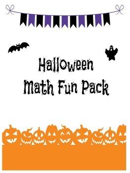 Halloween Math Fun Pack