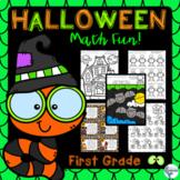 Halloween Math Fun Packet Grade 1