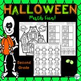Halloween Math Fun Packet Grade 2